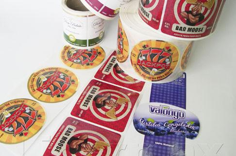 História das Etiquetas Adesivas